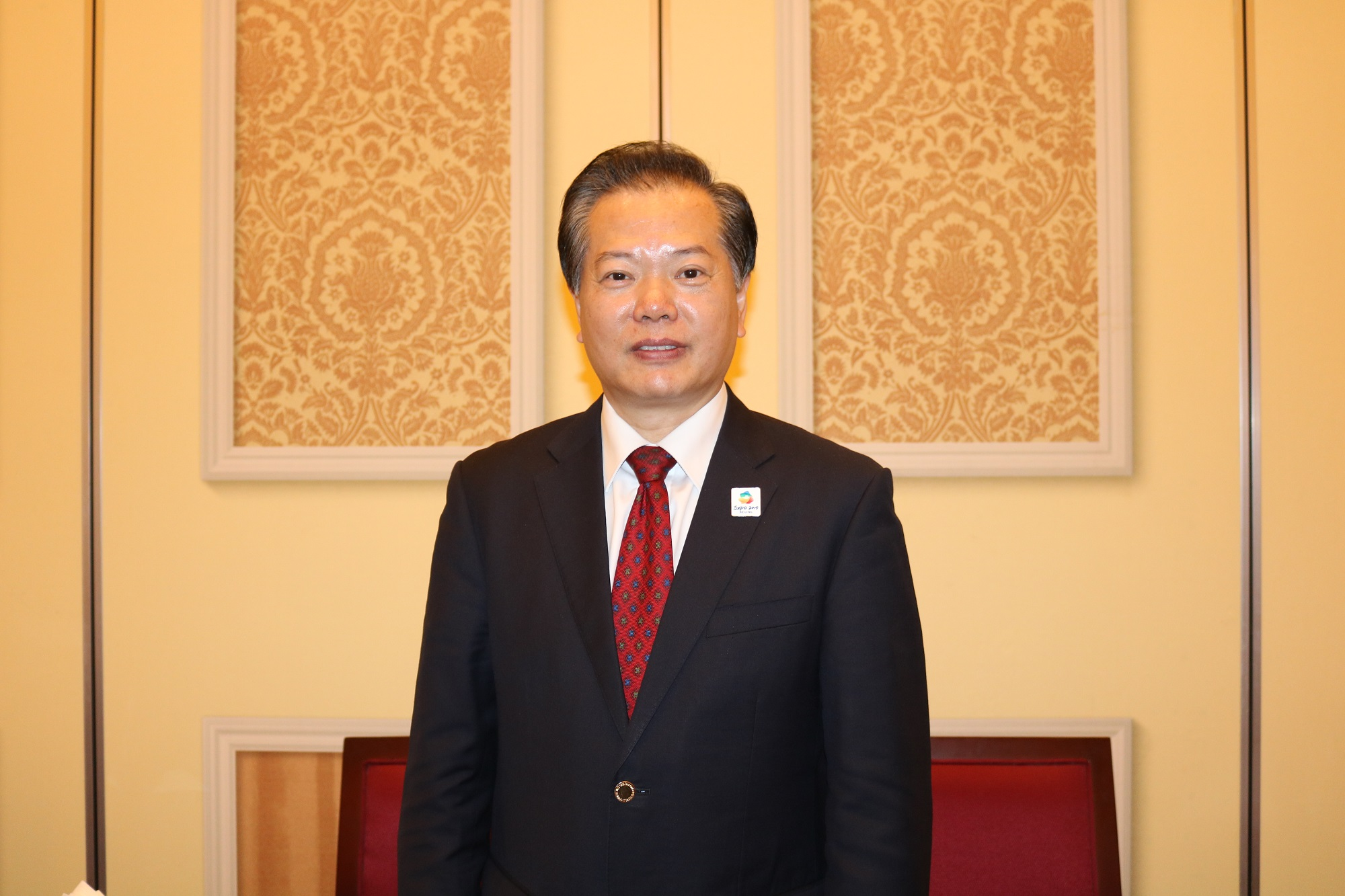Mr. Wang Jinzhen, Vice Chairman of China Council for the Promotion of International Trade