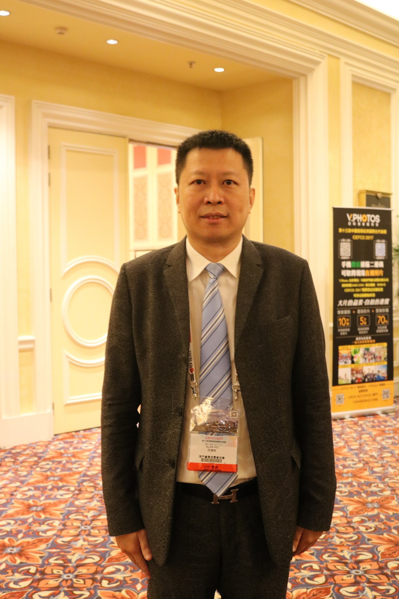 Mr. Alan Ho, Chairman of Board of Directors of Macau Convention & Exhibition Association