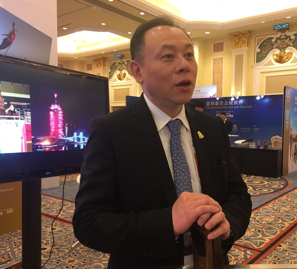 Mr. Tony Lam, President of Macao Fair and Trade Association