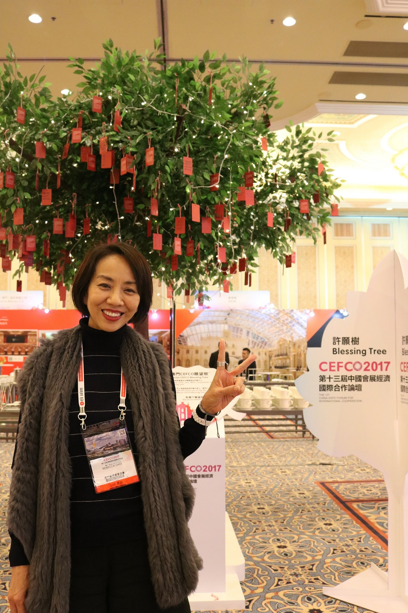 Ms. Rebecca Choi, Vice-President of Macau Meetings, Incentive and Special Events Association (MISE)
