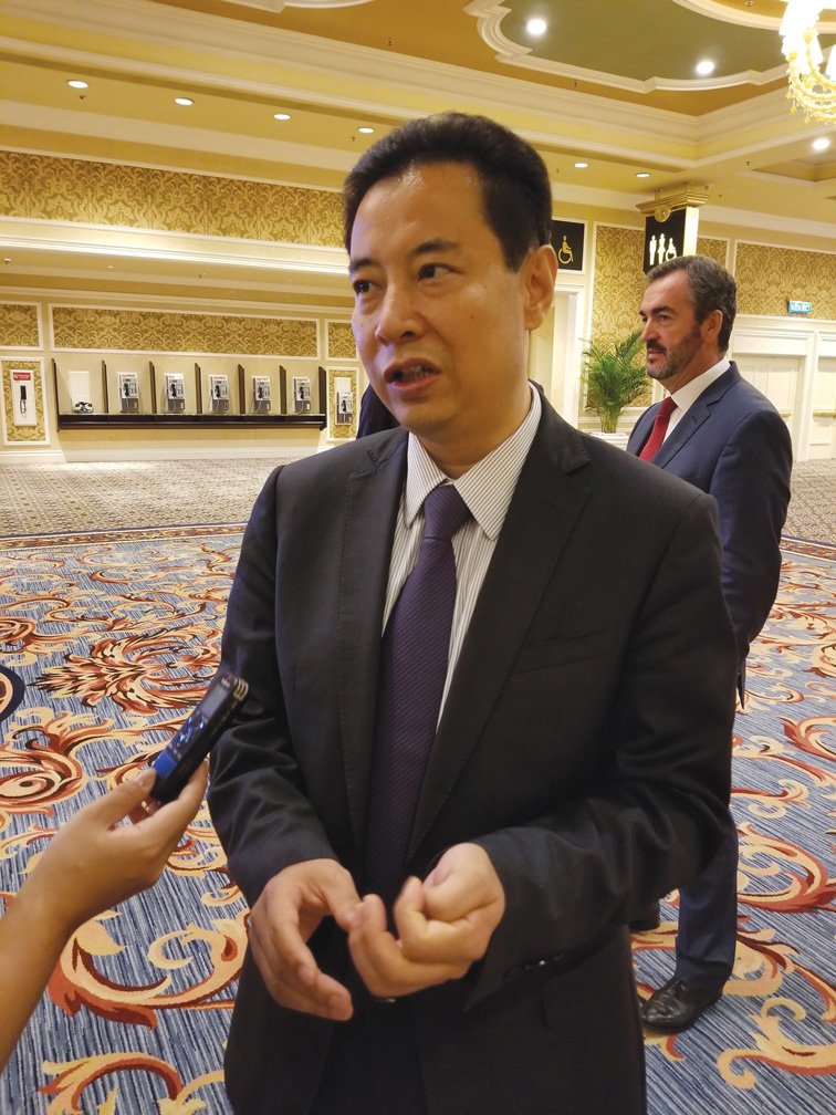 State Grid Corp. Assistant Chief Engineer and Department of International Co-operation Director, Zhu Guangchao