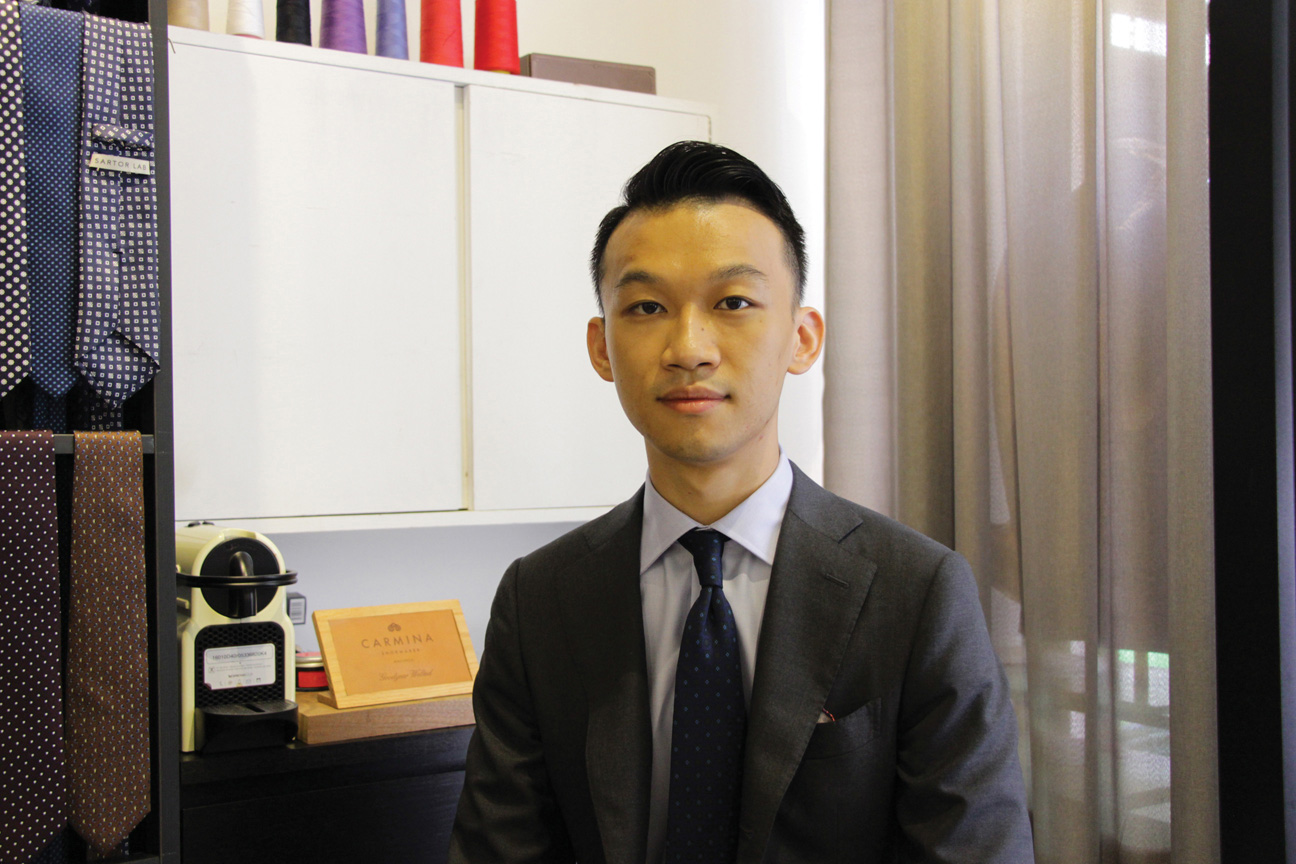 Kade Chou and his partner opened Sartor Lab in December 2014