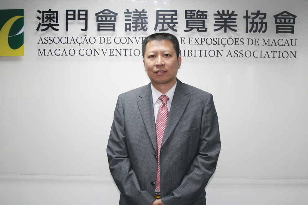 Chairman of the Board of Directors of the Macao Convention and Exhibition Association, Alan Ho
