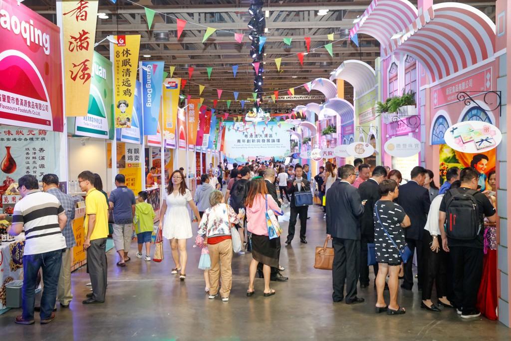 2019年上半年貿促局引進了182個會展項目