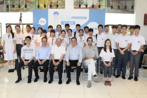 澳門貿易投資促進局主席張祖榮與青年展開真情對話