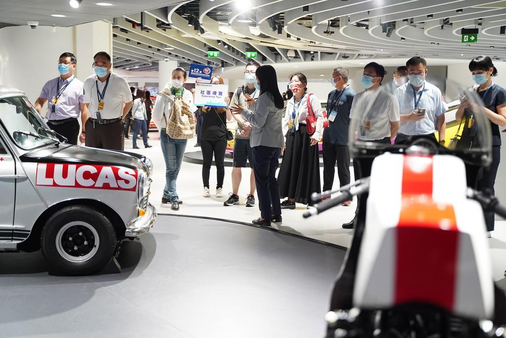 社區導賞團參觀澳門大賽車博物館