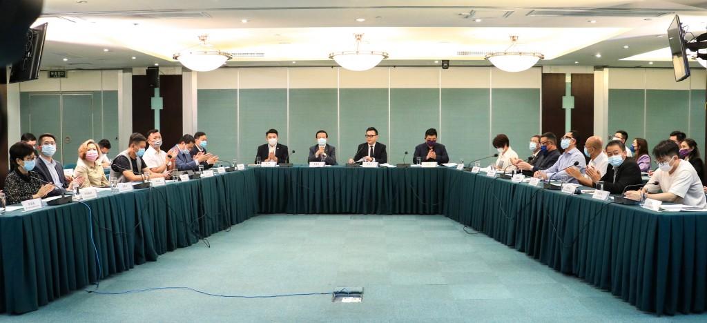 """""""中國(河北)自由貿易試驗區推介會""""在澳門舉行"""