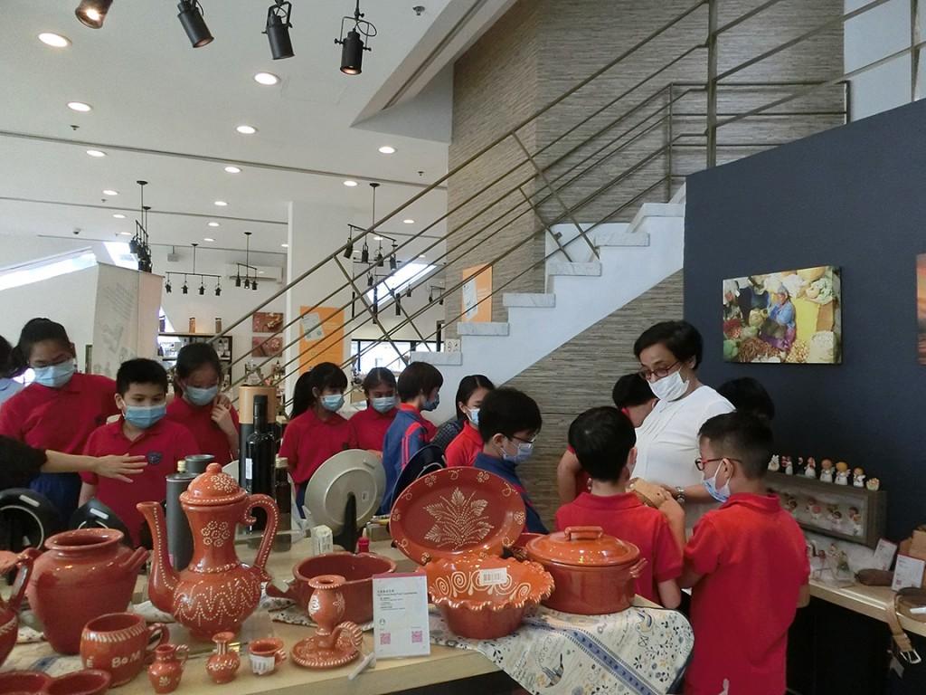 何東中葡小學參觀葡語國家食品展示中心 (2021年6月)